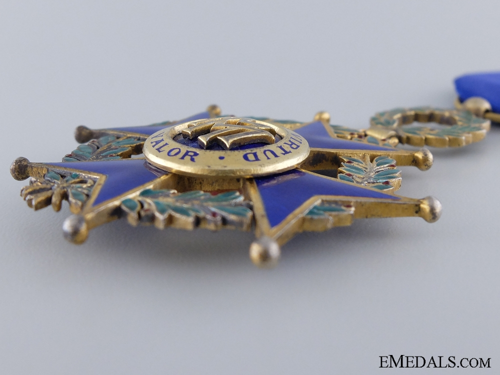 A Cuban Order of Military Merit; Officer's Cross; Third Class