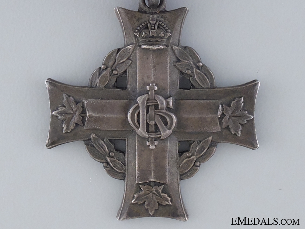 Memorial Cross to Acting Sergeant Thomas D. Carmichael, Canadian Forestry Corps