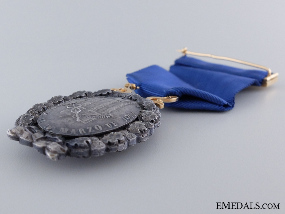 A Spanish Industrial Award for Merit; Breast Badge
