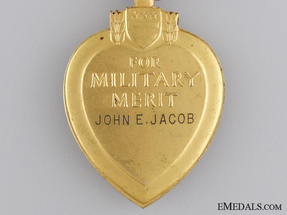 A Second War Purple Heart; Named