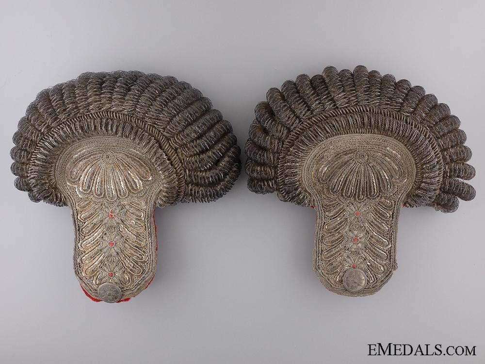 An Exquisite Set of Bavarian Shoulder Epaulettes c.1845