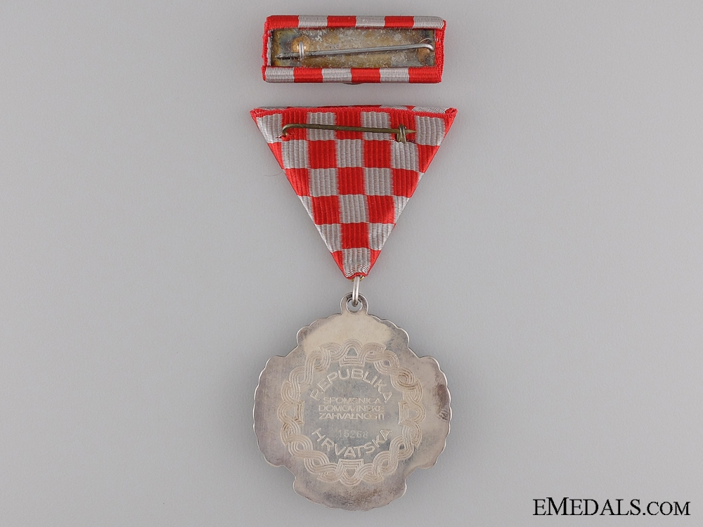 A Croatian Homeland Gratitude Decoration