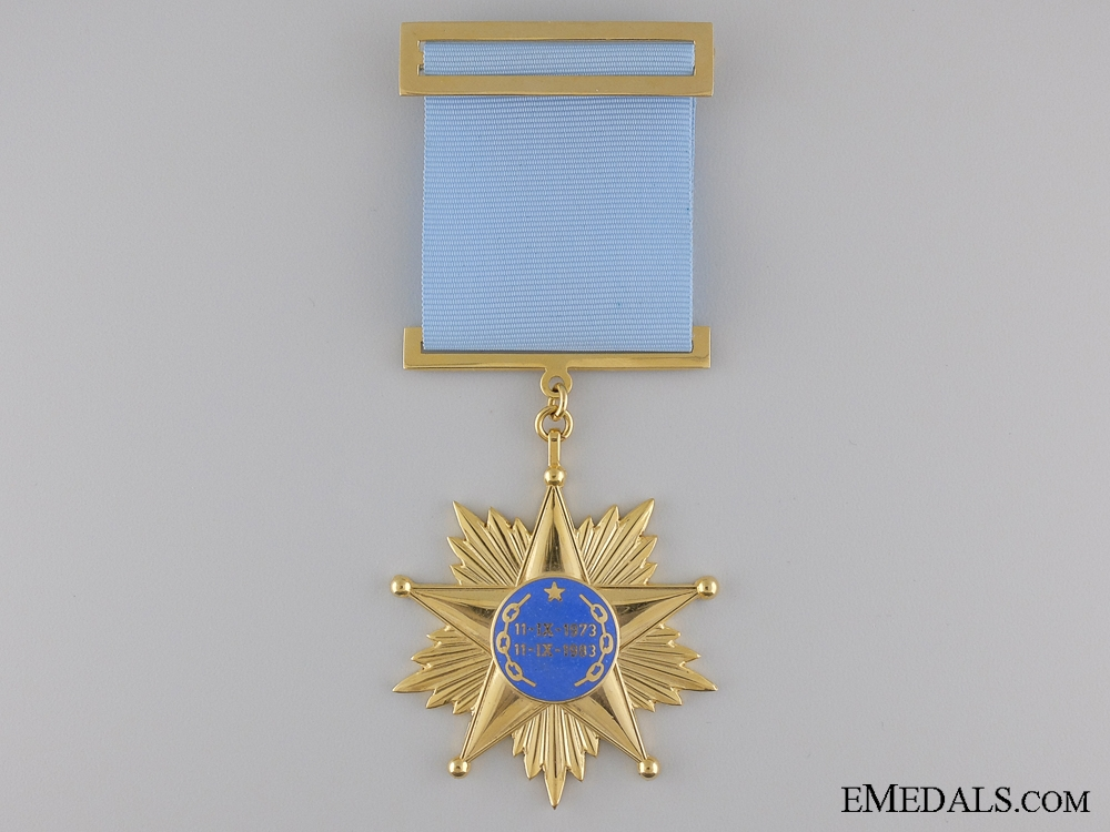 A Chilean Air force Order of Revolution; Generals Issue