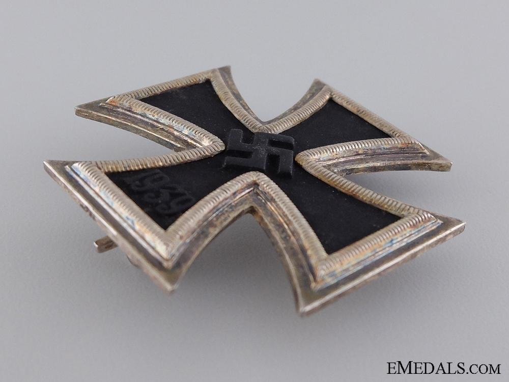 A Cased Iron Cross First Class by Klein & Quenzer