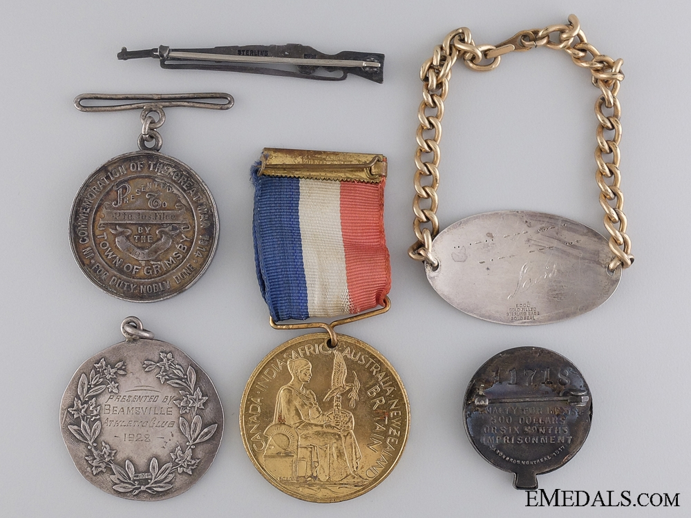 A First War Medal Group to the 15th Canadian Infantry
