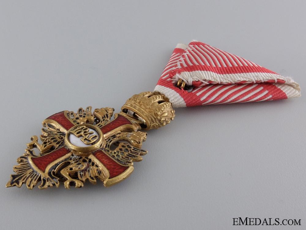 An Austrian Order of Franz Joseph; Knight Cross c.1918