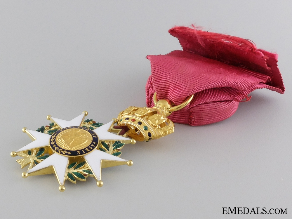 A 1852-70 French Legion D'Honneur in Gold