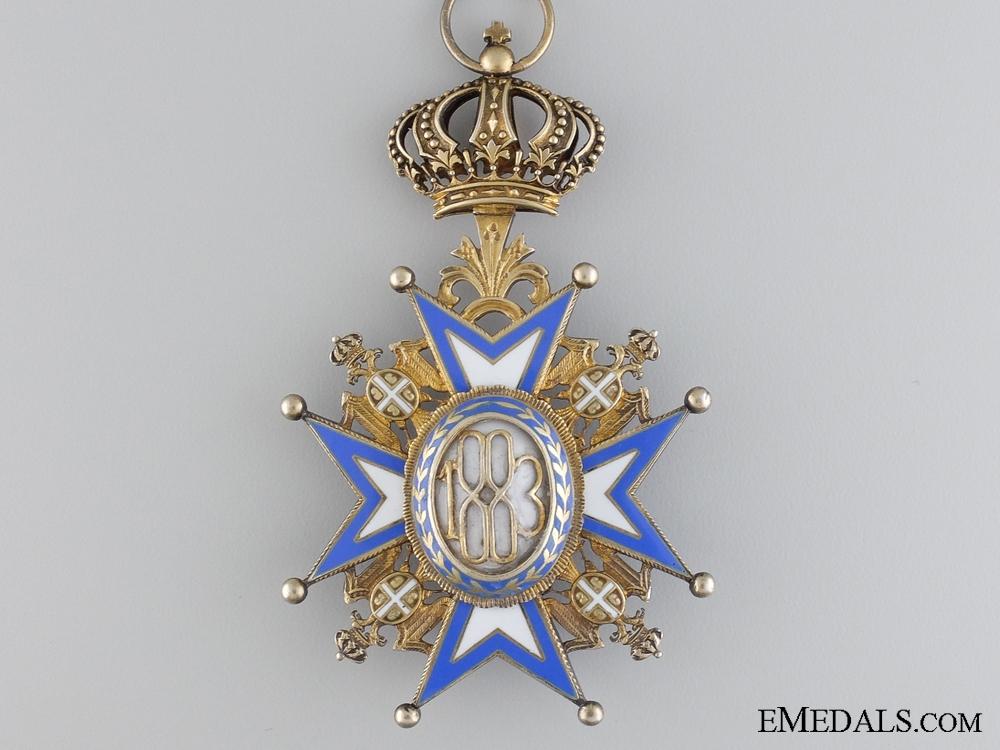 A Serbian Order of St.Sava; Commander Third Class