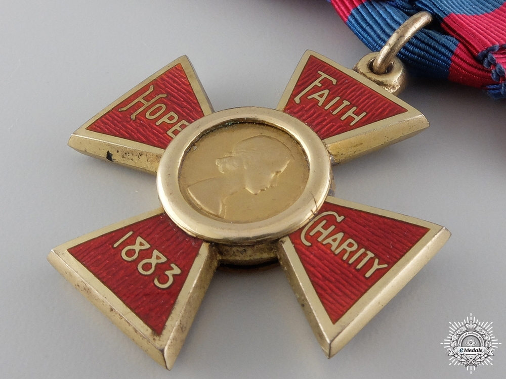 A Elizabeth II Royal Red Cross; First Class