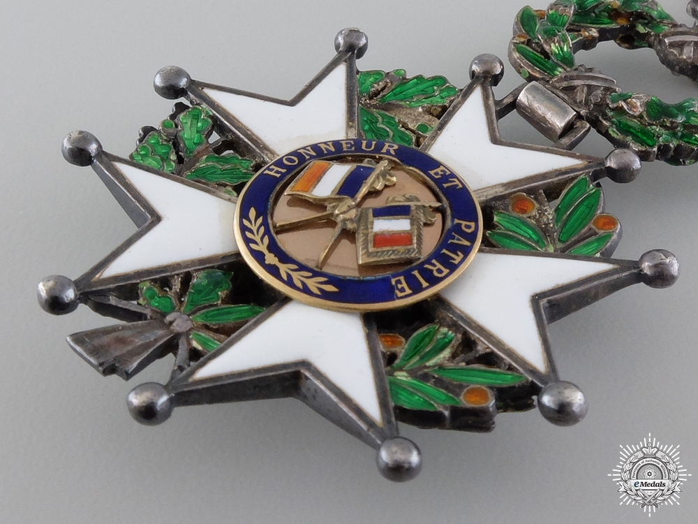 A Fine French Legion D' Honneur with Diamonds