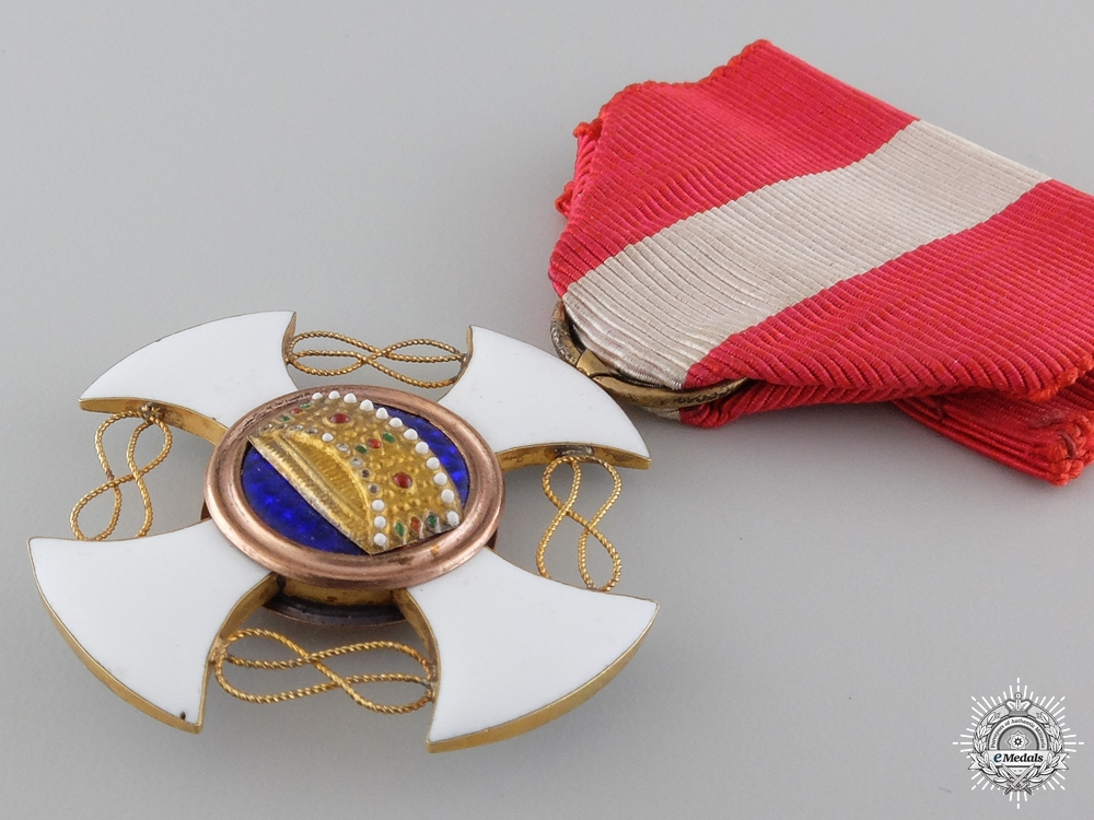 An Italian Order of the Crown; Fifth Class