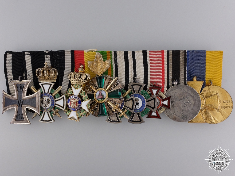 The Pour-le-Merite & Awards to the Commander of 111th Regiment