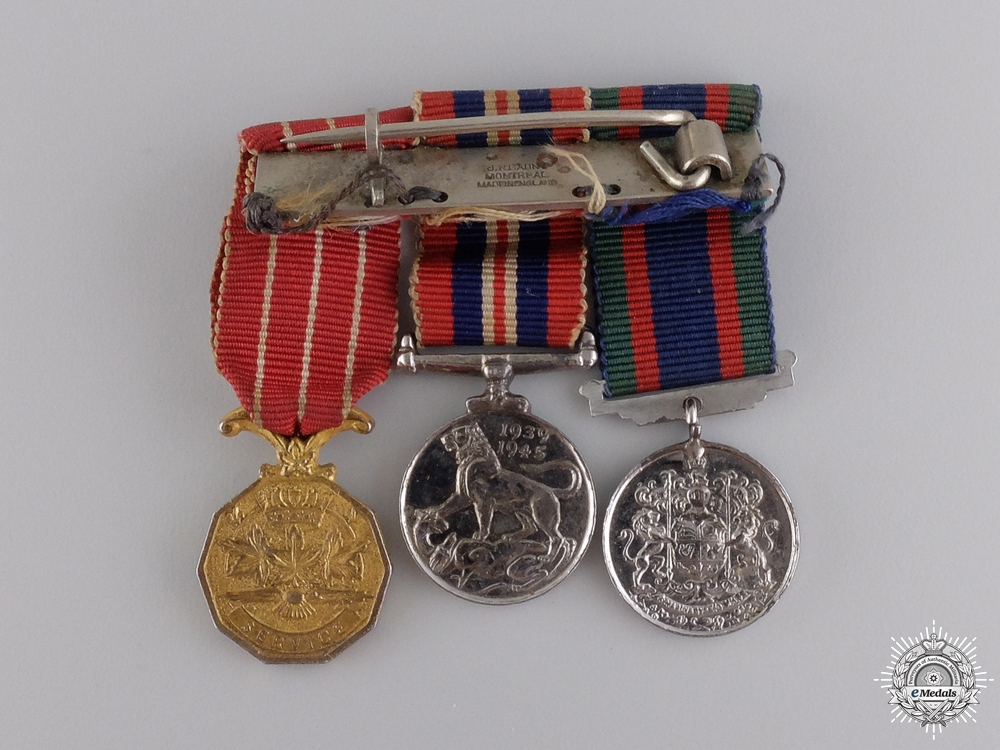 A Second War Medal Group to the  Canadian Women's Army Corp
