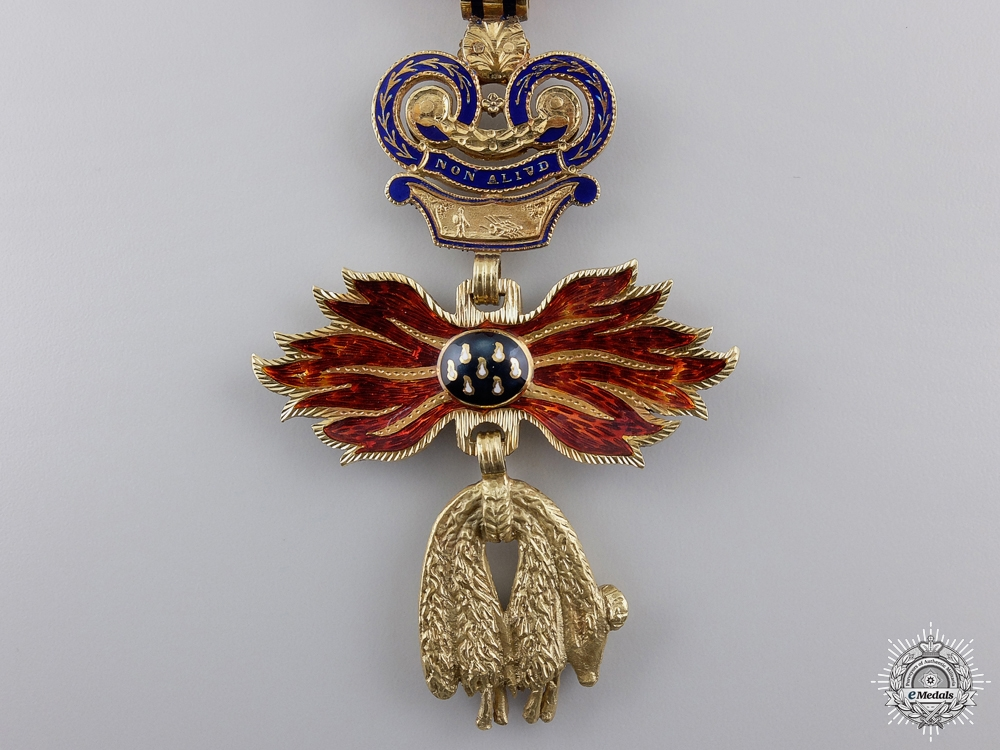 A Superb Austrian Order of the Golden Fleece in Gold by Rothe