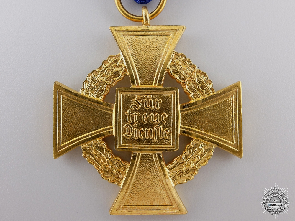 A Faithful Service Decoration; 1st Class for Forty Years