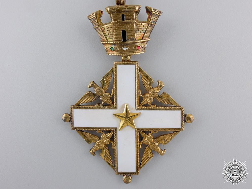 A Italian Republic's Order of Merit; Commanders