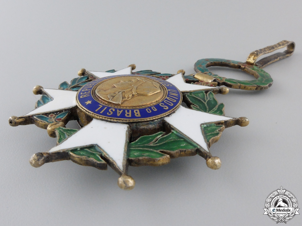 Brazil, Republic. A National Order of the Southern Cross, Commander