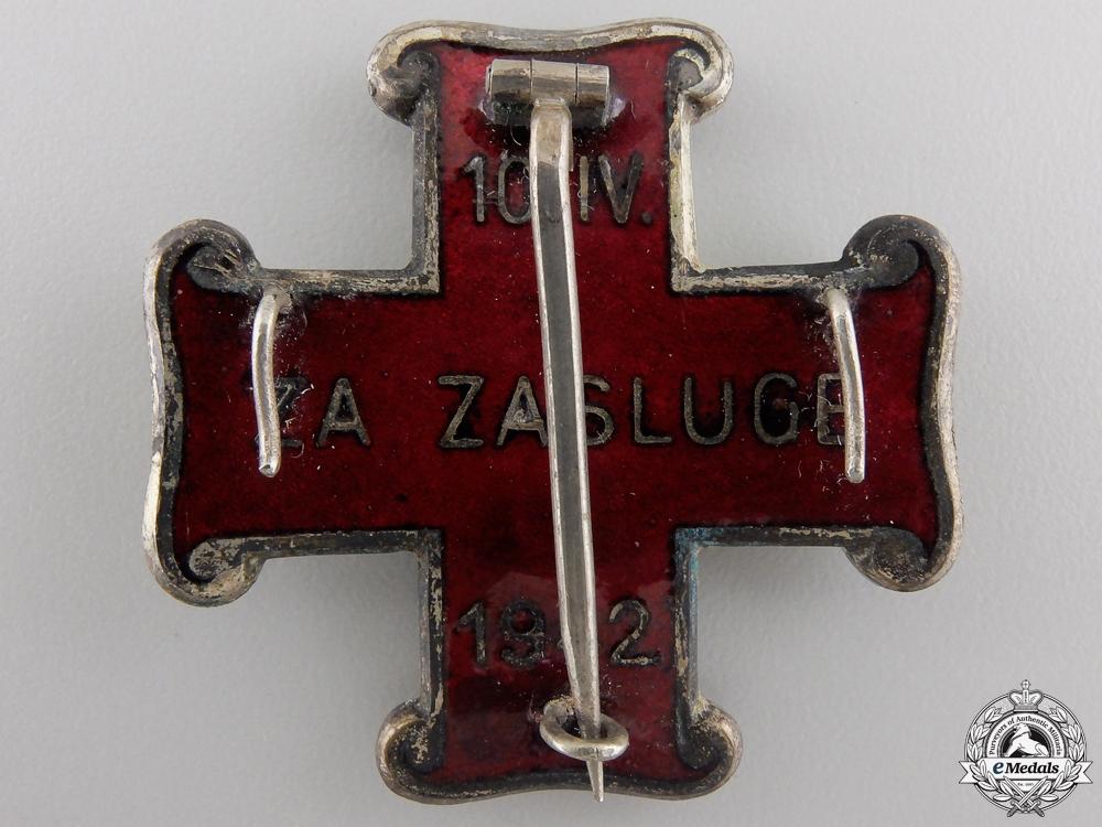 A Mint Second War Croatian Order of Merit; Second Class Cross