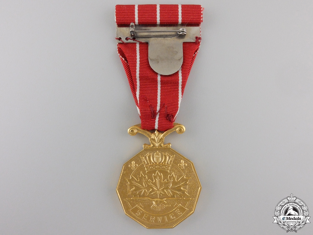 Canadian Forces' Decoration to HMCS Iroquois