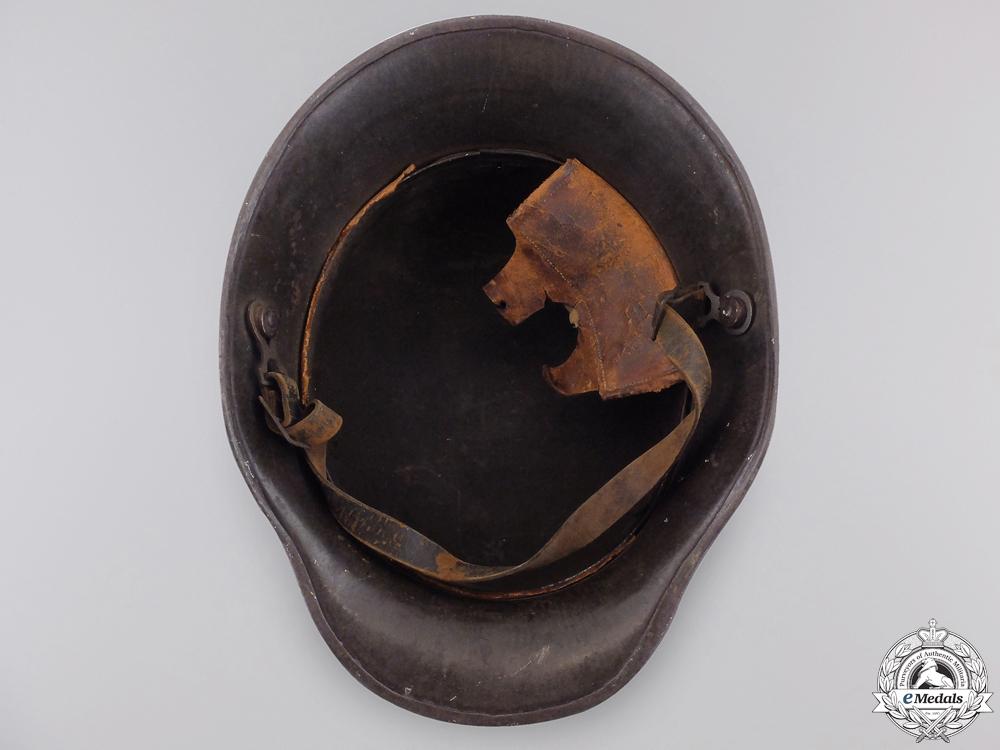 A First War German Army Camouflage Helmet