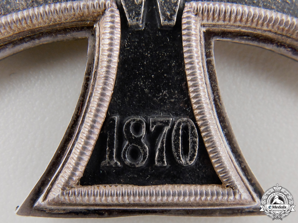 An 1870 Iron Cross Second Class with 25 Years Jubilee Spange