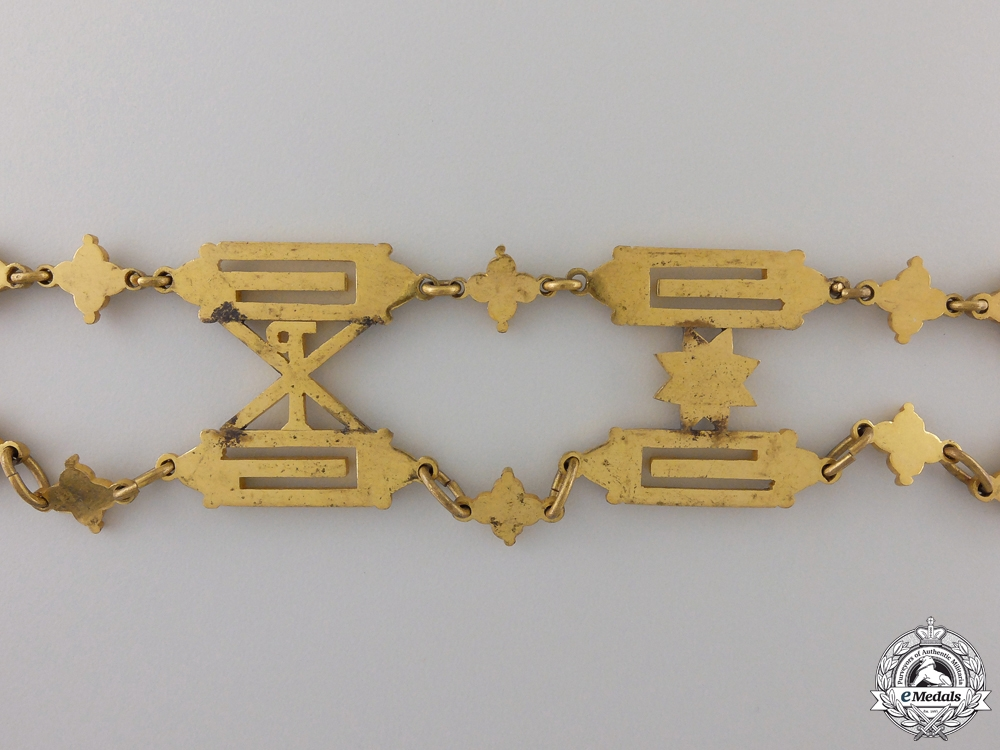 A Collar of the Combined Orders of St. Sylvester and Golden Spur