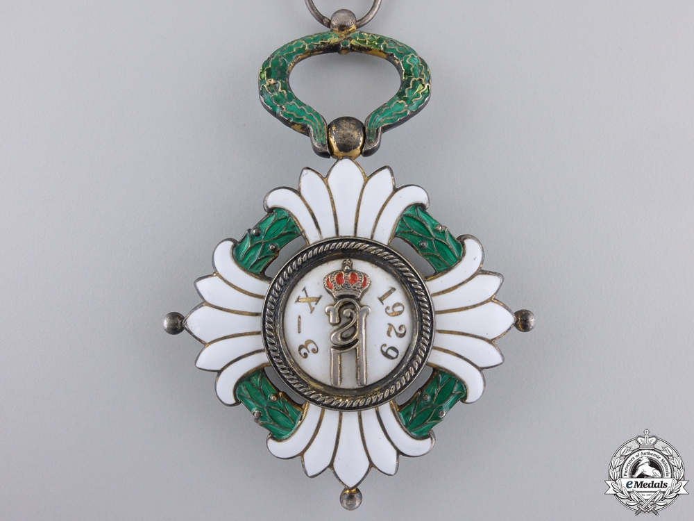Yugoslavia, Kingdom. An Order of the Crown, III Class Commander, c.1930