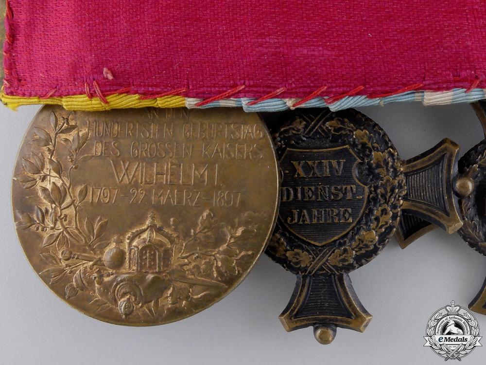 A Bavarian 1870 Franco-Prussian Iron Cross Medal Bar