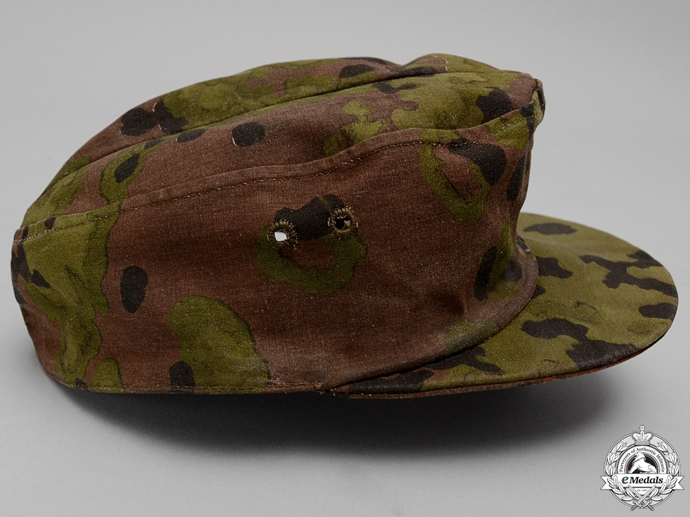 An M42 Waffen SS Camouflage Field Cap