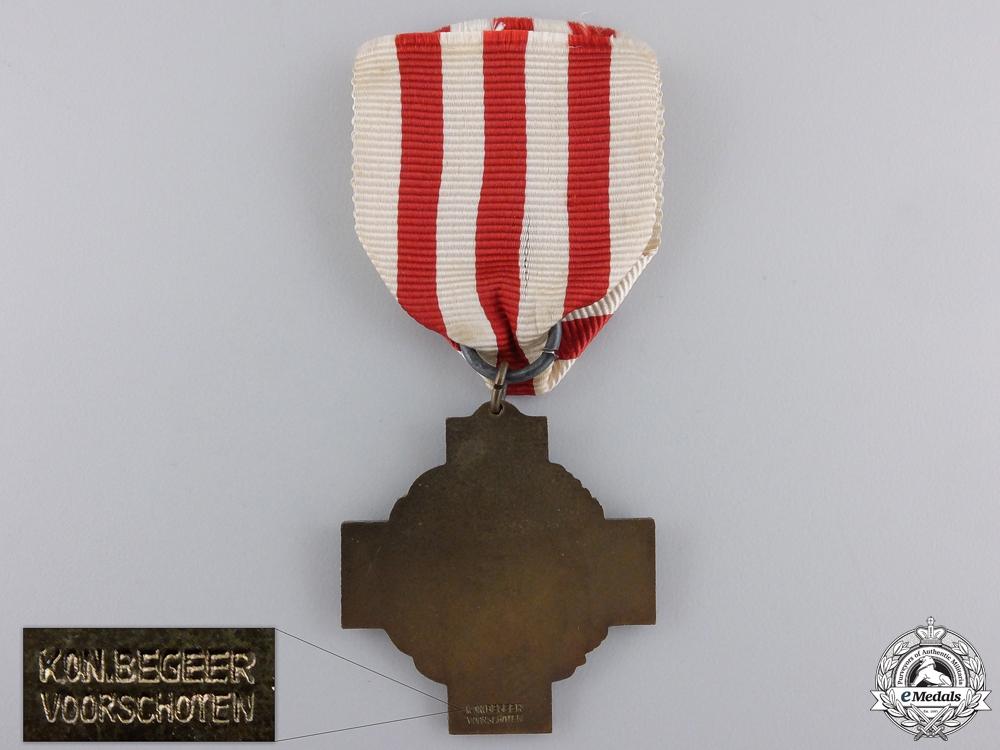 A Second War Cross of the Netherlands Red Cross 1939-1940