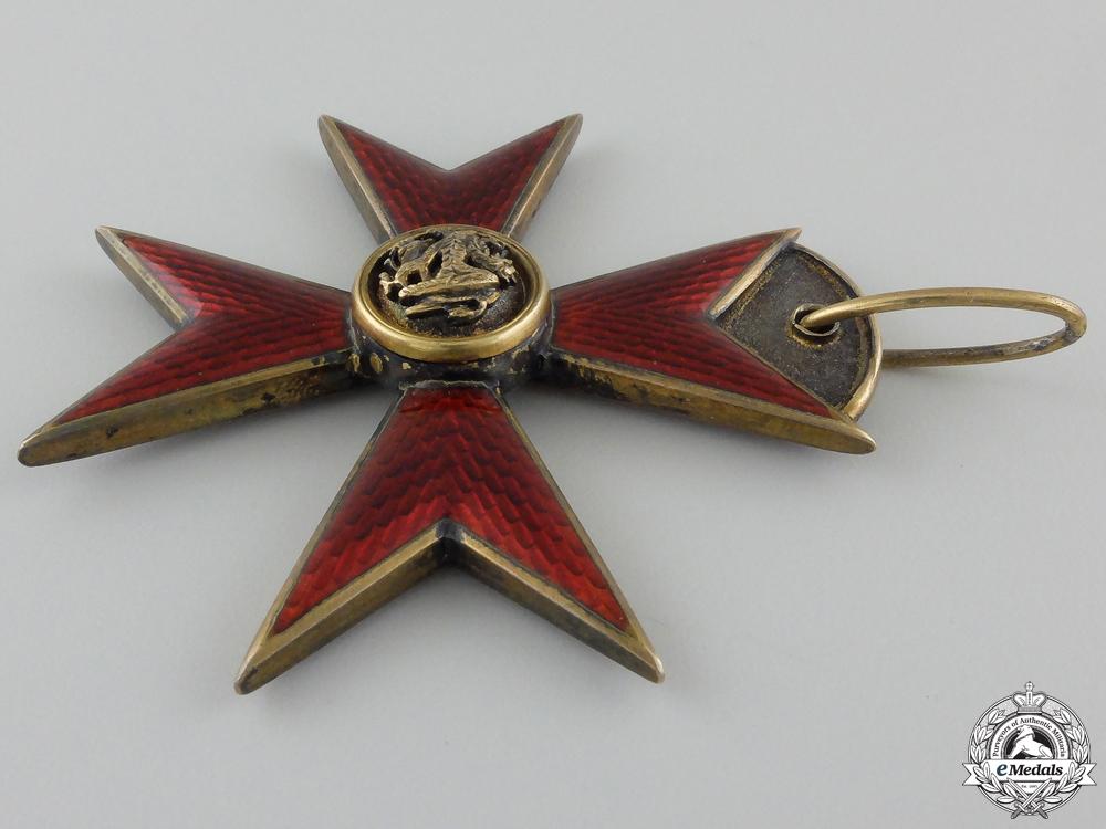 A Mecklenburg Order of the Griffin; Commander`s Badge