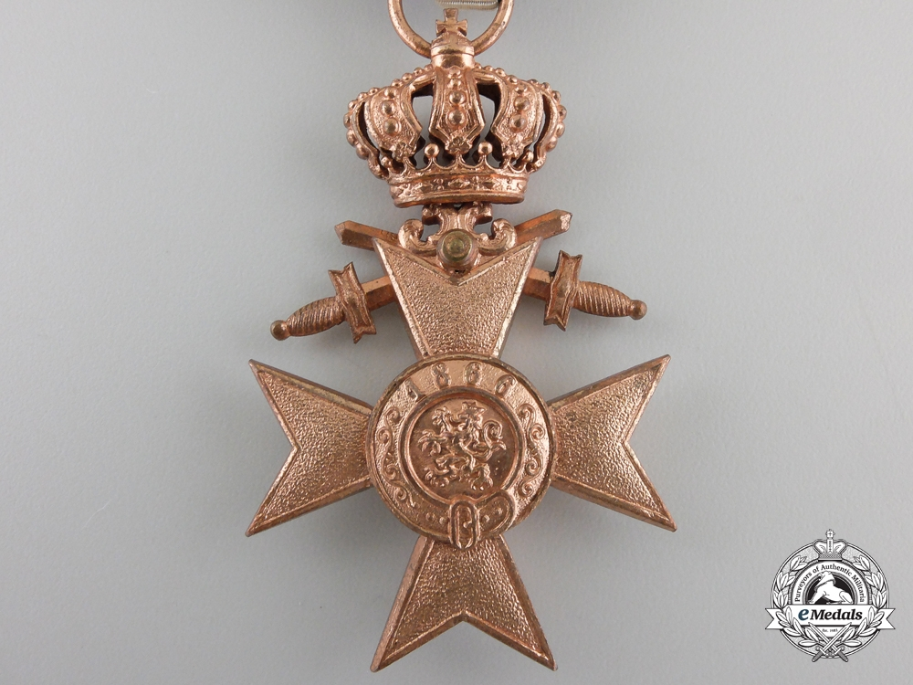 A Bavarian Military Merit Order; 3rd Class with Case