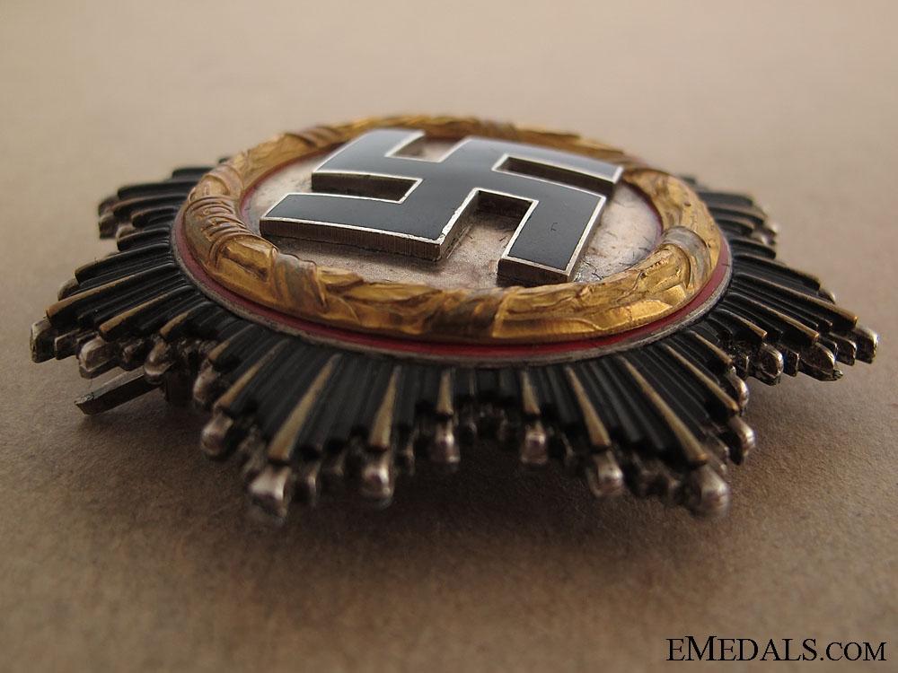 German Cross in Gold  Cased