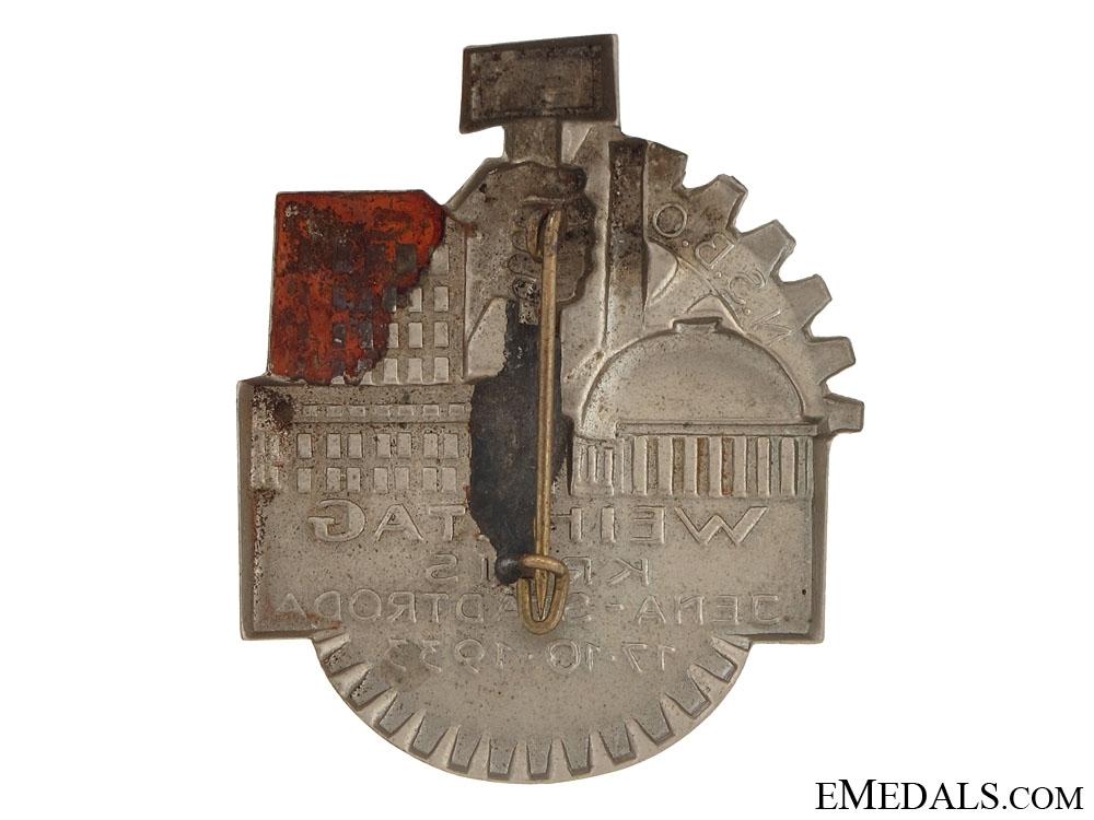 NSBO Dedication Circle Tinnie 1933