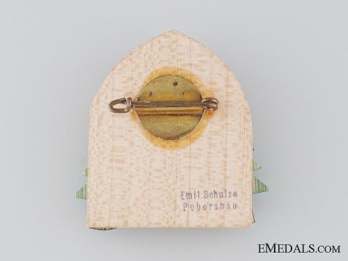 1934 Jahre Pobershau Badge