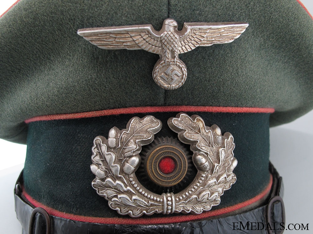 Army (Heer) Panzer Officer's Visor Cap