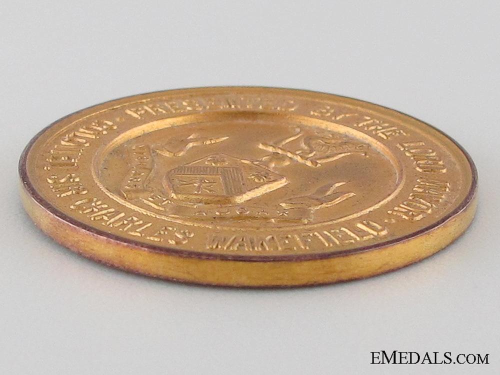 WWI Wakefield GOLD Medal for Zepplein Kill