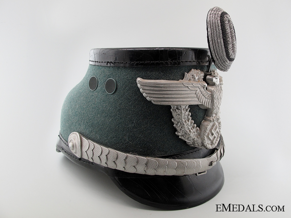 A German Urban Police Officer's Shako