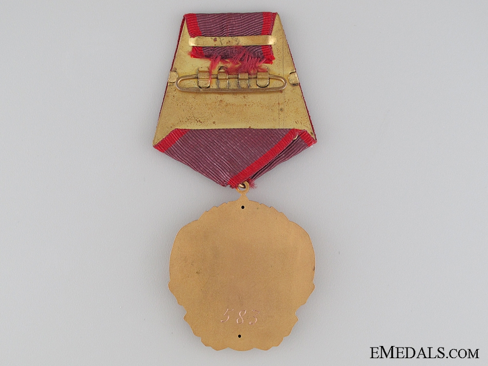 The Order of Georgi Dimitrov in Gold