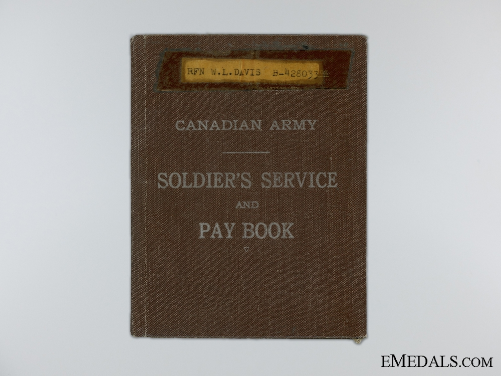 A Second War Canadian Group to the Queen's Own Rifles
