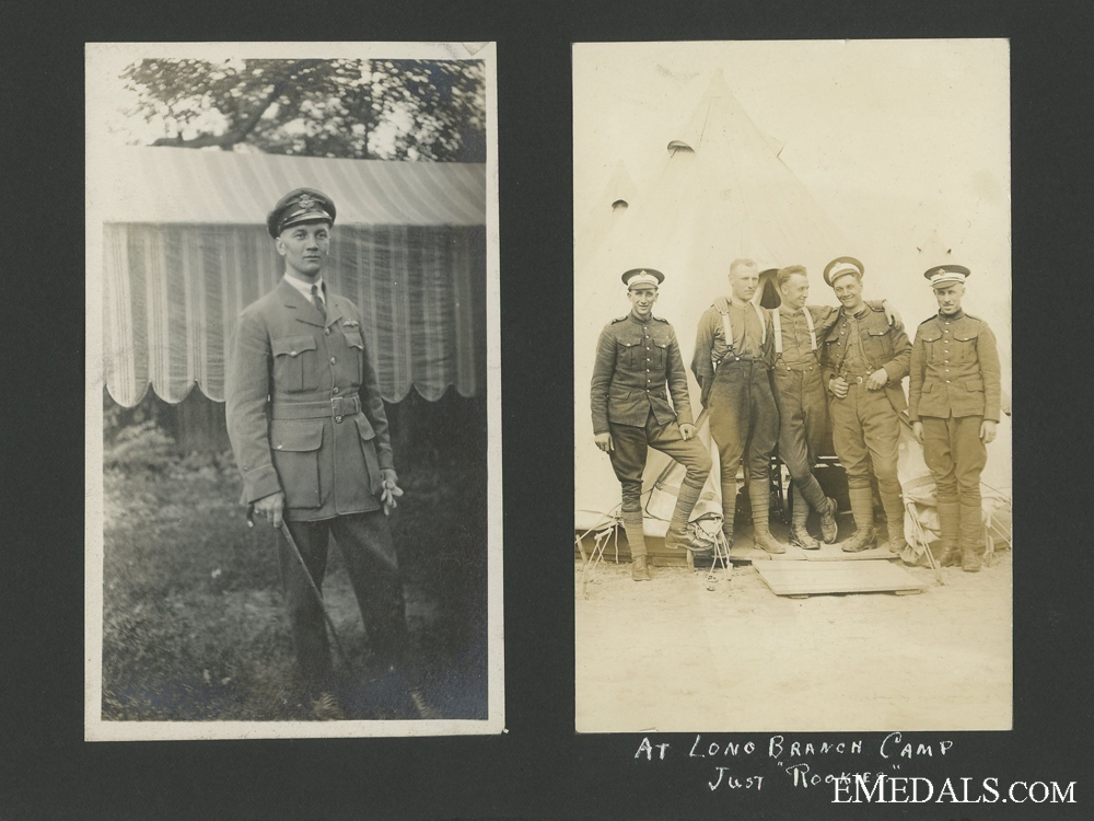 First War Royal Air Force Veteran's Photo Album
