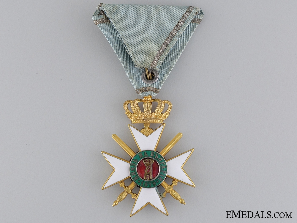 A Bulgarian Military Order of Bravery; 3rd Class Officer