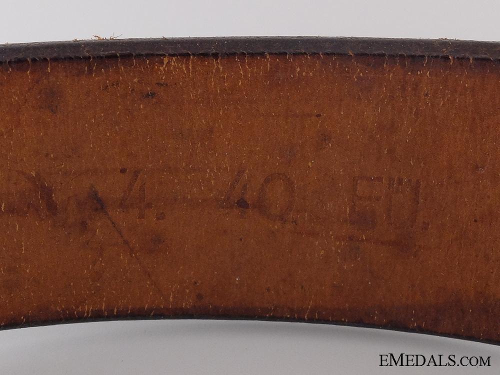 An RAD Belt with Buckle by Hermann Aurich, Dresden