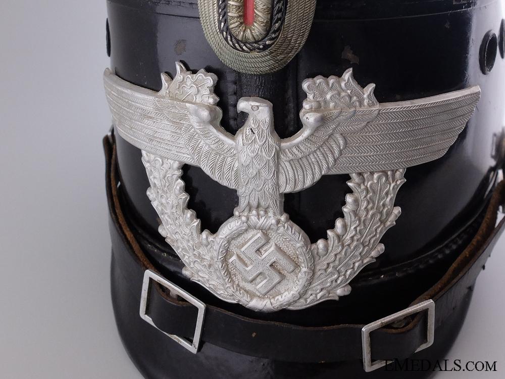 An Auxiliary Police (Polizei) NCO's Shako