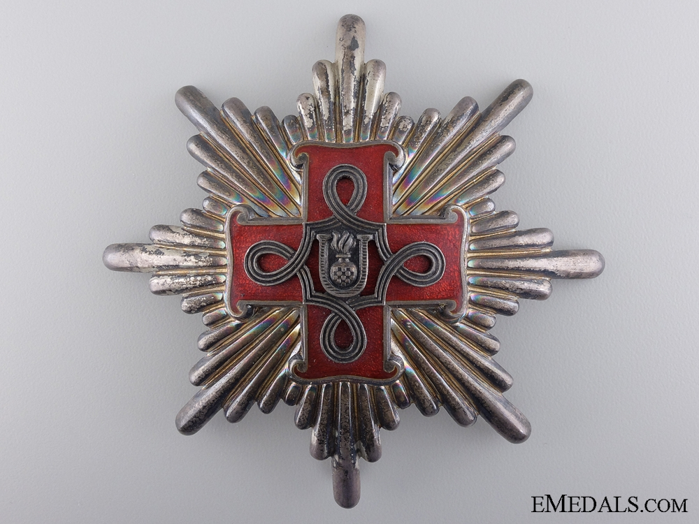 A Croatian Order of Merit; Grand Cross