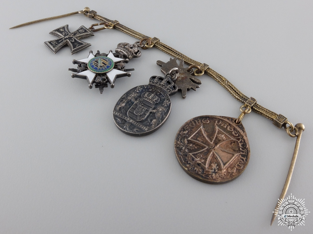 A German Imperial Miniature Group of Four Awards