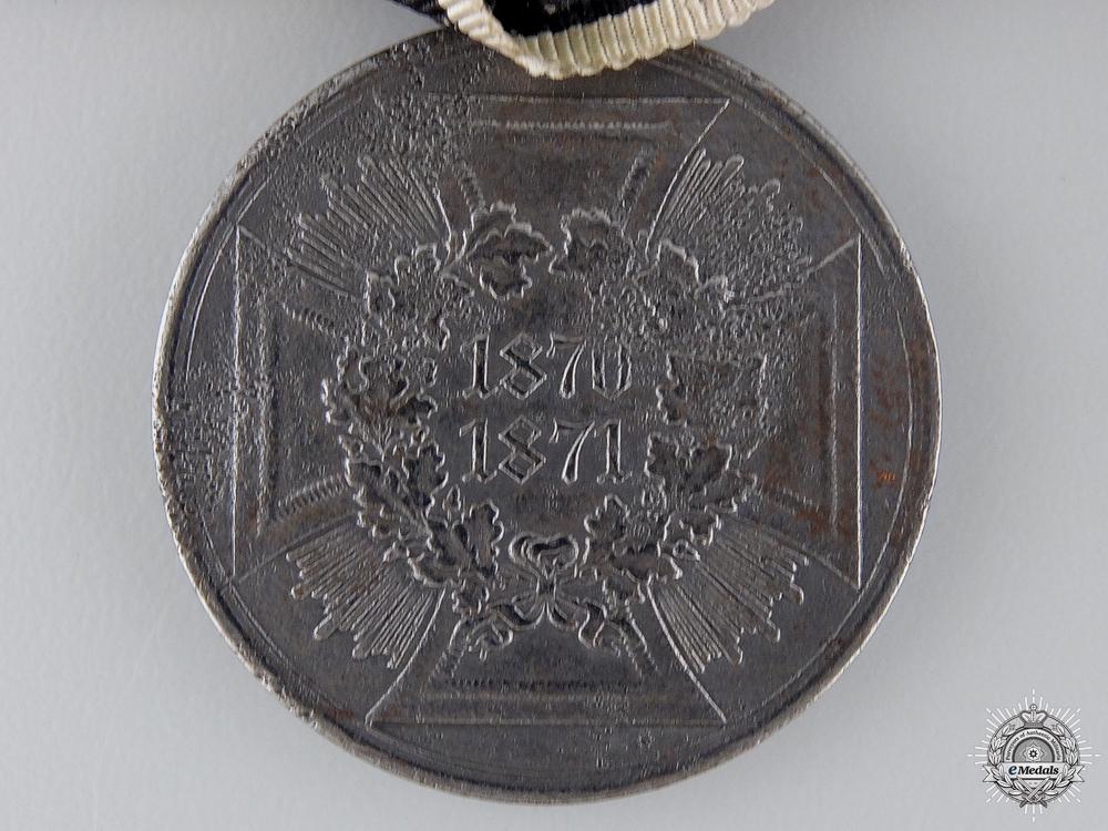 A Ladies Franco-Prussian War Medal Pair