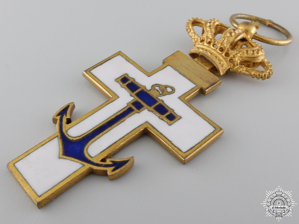 A Spanish Order of Naval Merit; Grand Cross Set