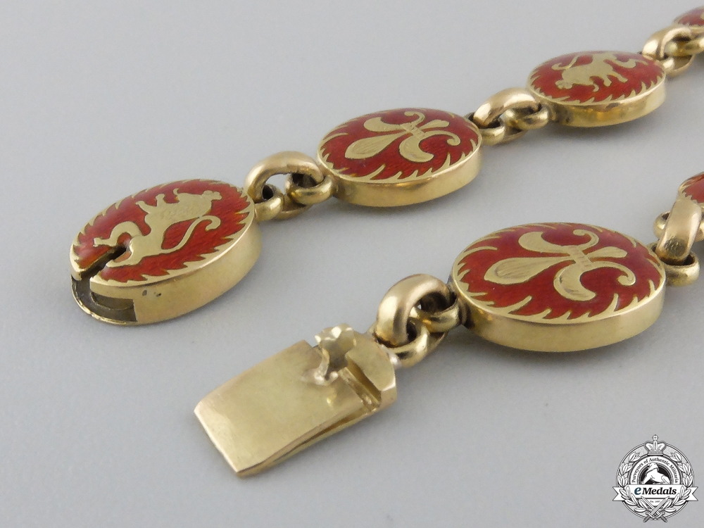 Bulgaria - Kingdom, An Order of Saint Cyril and Saint Methodius Collar Chain