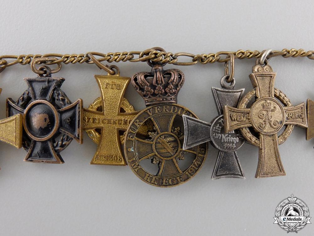A First War German Imperial Miniature Chain